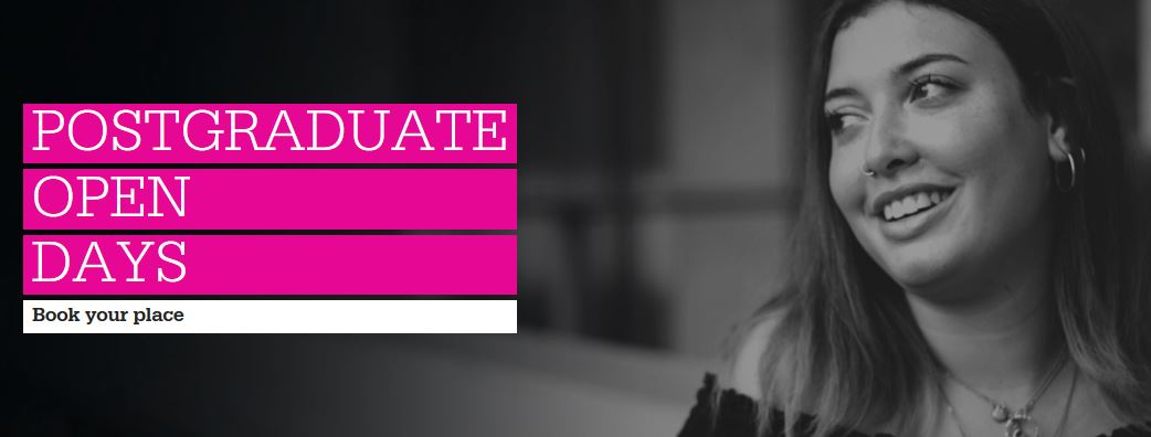 Postgraduate Open Day on 20 February