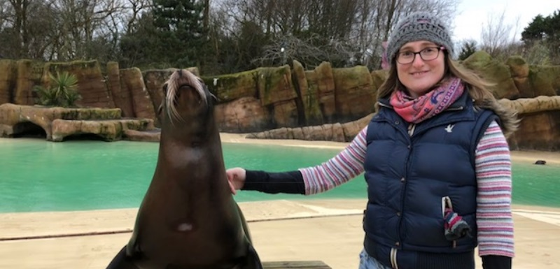 Dr Robyn Grant worked with Royal Northern College of Music on a project to test if sea lions can dance