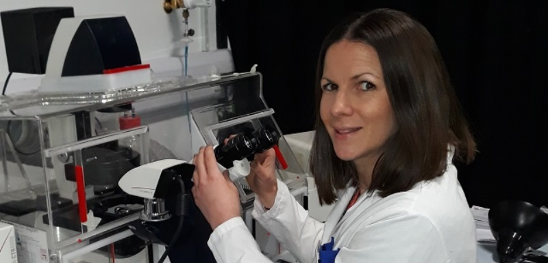 Dr Sarah Jones, Senior Lecturer, who will be researching the formation of dangerous blood clots