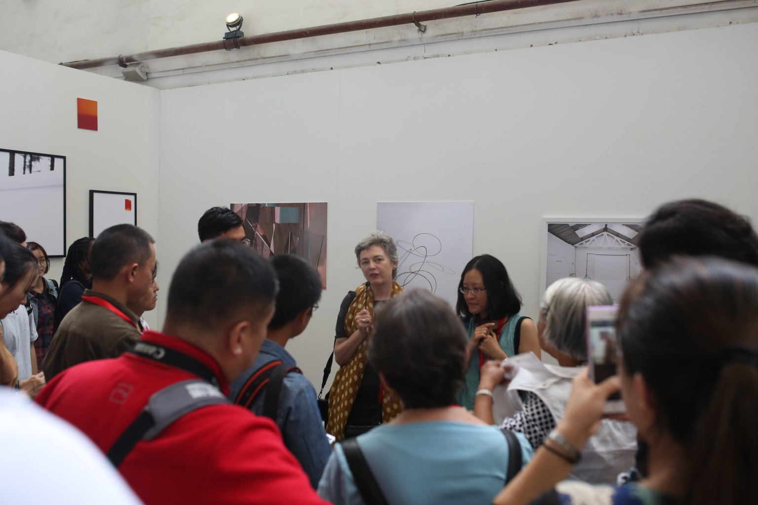 Curator talk, PIP, Pingyao, China 2016