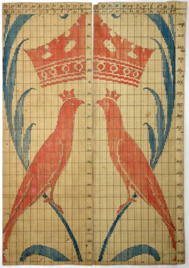 Lee's point paper pattern no. 34 by Voysey, around 1893
