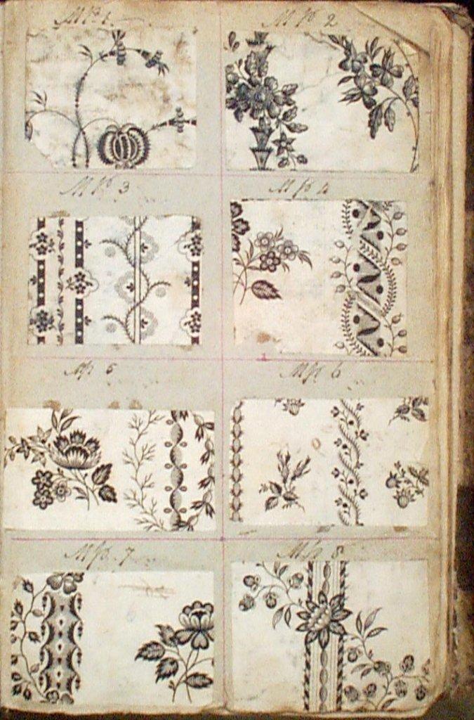 'Plate Patterns', around 1805